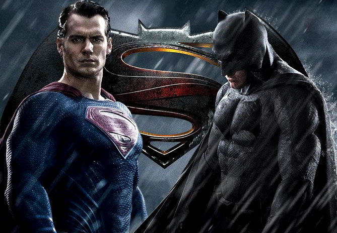 Batman versus Superman showdown