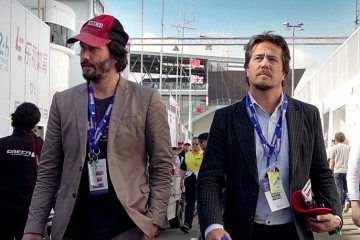 Keanu Reeves at Le Mans