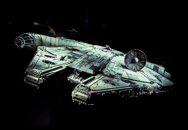 ride on the Millennium Falcon