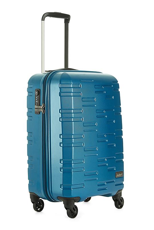 cabin suitcase, antler liquis embossed