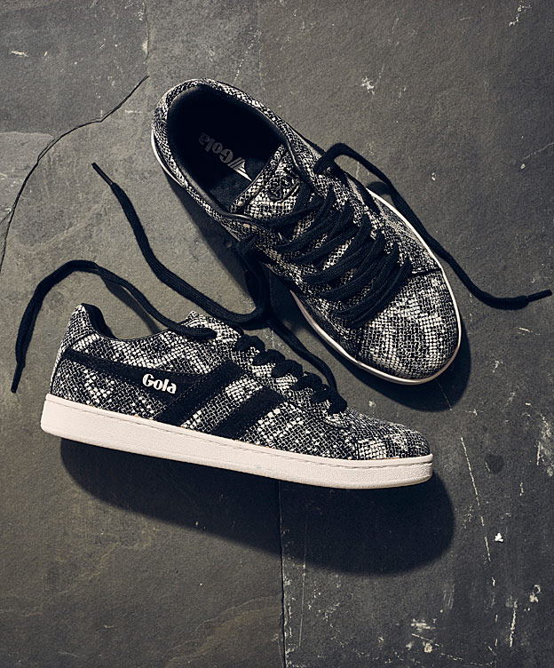 Animal Print Trainers for Girls by Gola