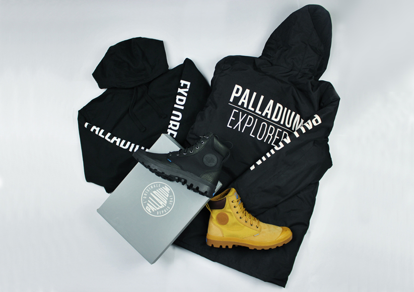 palladium boots, palladium competition
