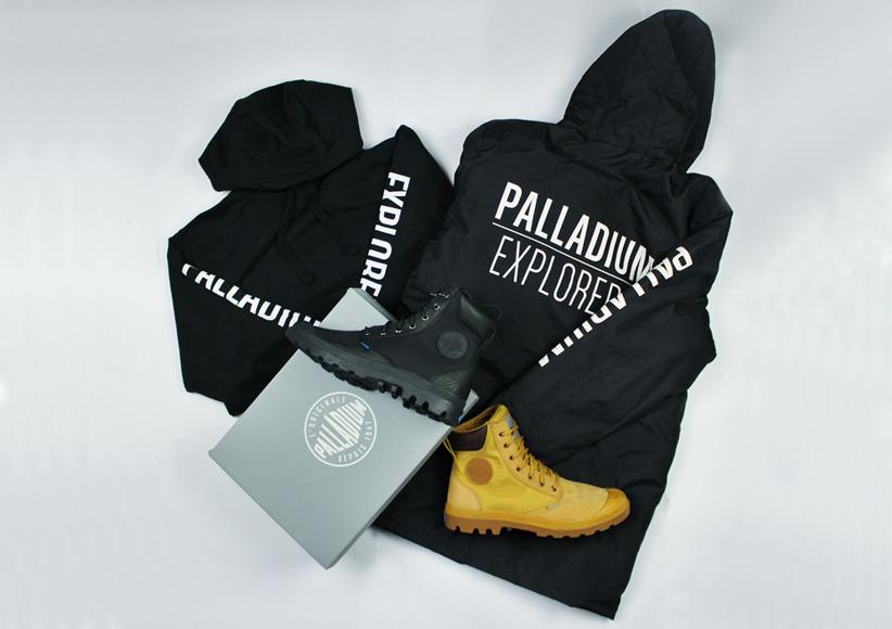 palladium boots, palladium competition