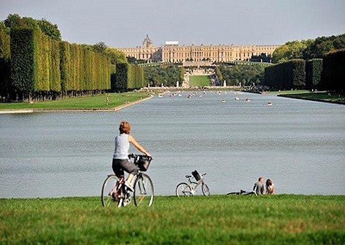 cycling holiday, versailles