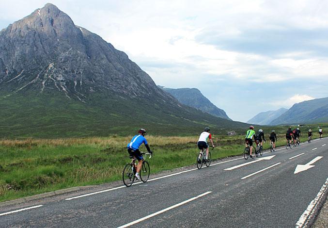 Land's End to John O' Groats bike tour, England, Scotland