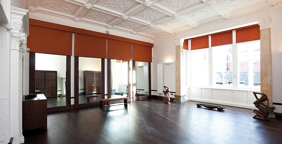 London spa, ushvani yoga studio for yoga workshops