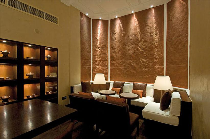 london spa, Ushvani tea room