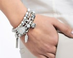 Annie Haak: Harmony Marble & Silver bracelet collection