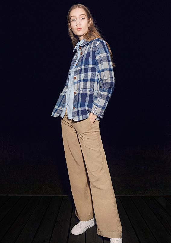 GANT AW17 collection, mens fashion, womens fashion, check shirt