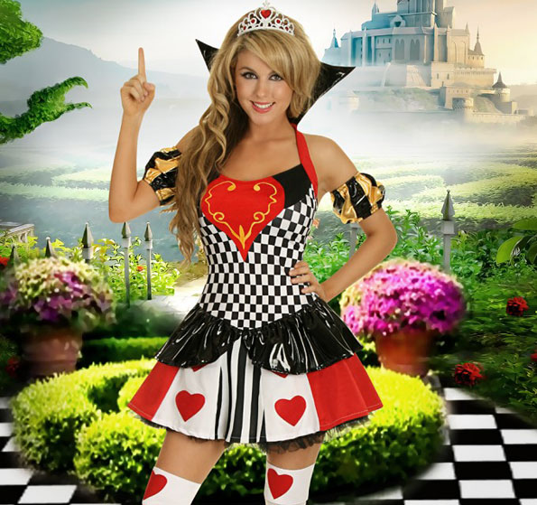 popular Alice in Wonderland costumes