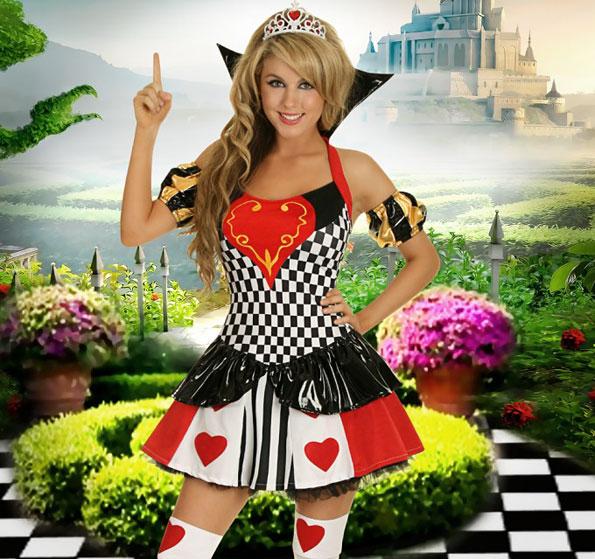 popular Alice in Wonderland costumes