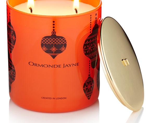 christmas candle, ormonde jayne perfumery