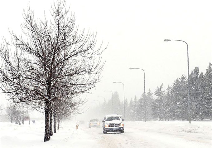 uk driving winter