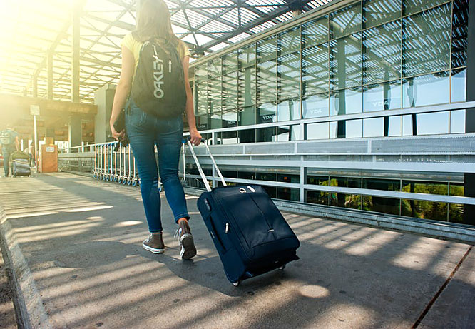 organise your travel bag