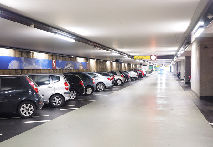 airport parking rates