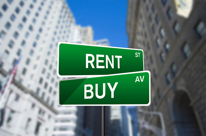 renting or buying house