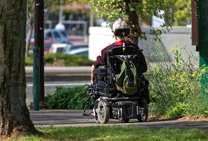 Trips for people with disabilities