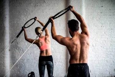 starting a workout