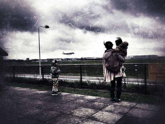 kids air travel