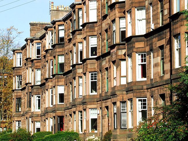 rental places in Glasgow