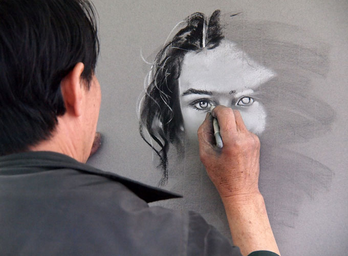 self employed artist