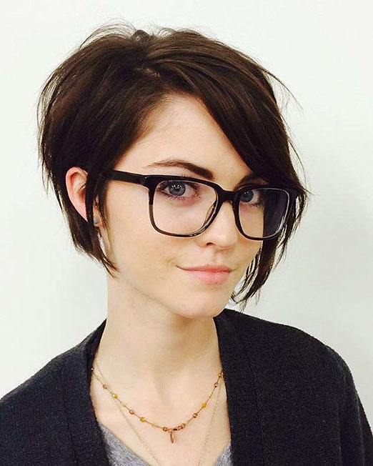 Fashionable short hairstyles for fine hair 2019 - Flux ...