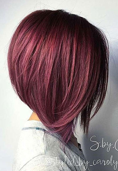 Fashionable short hairstyles for fine hair 2019