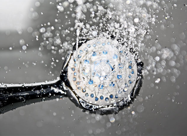 steamy bath