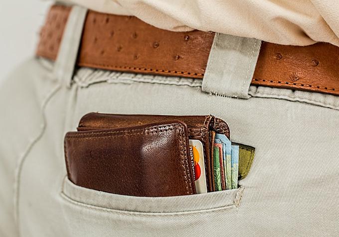 wallet man