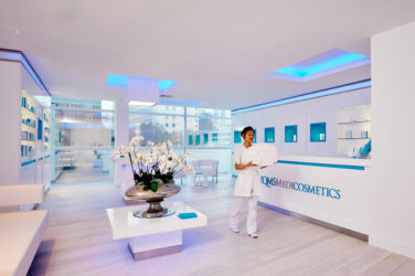 QMS Medicosmetics spa at lowry hotel