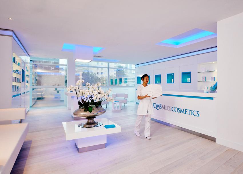 QMS Medicosmetics spa at lowry hotel