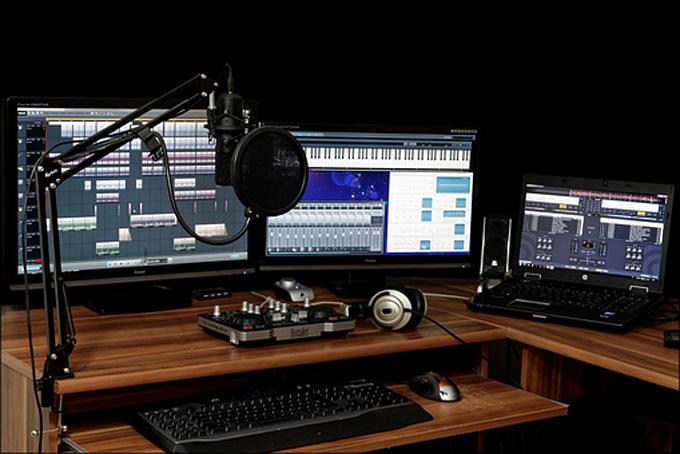 perfect recording studio