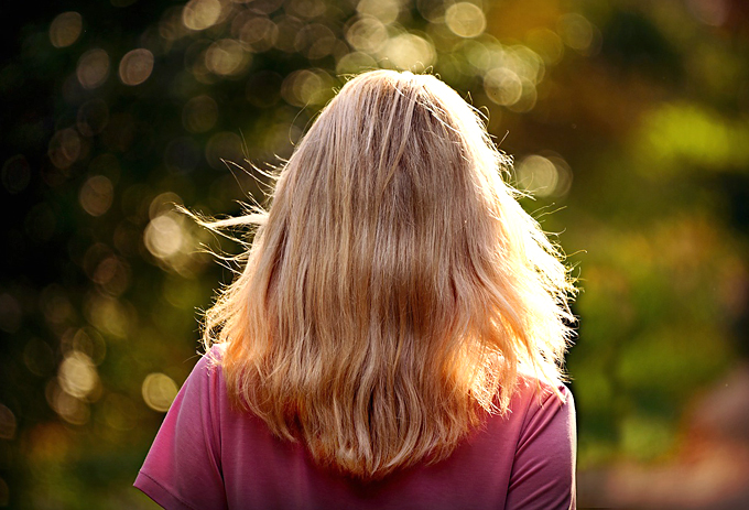 overly dry hair