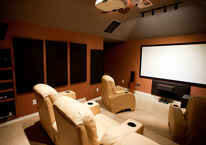 home cinema area