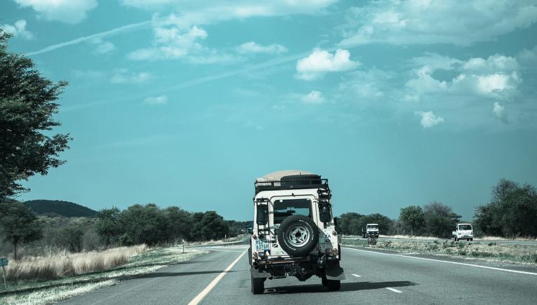 road trip adventure in America