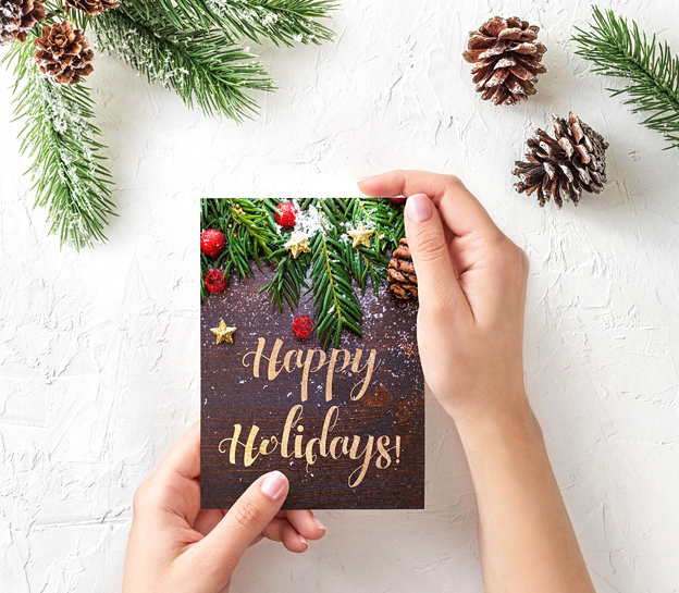 trends for Christmas cards