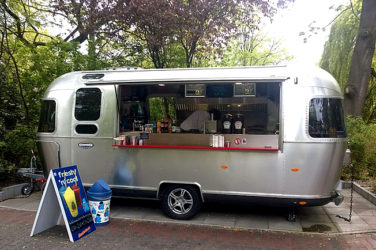 pop up burger van