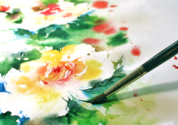 choose watercolor