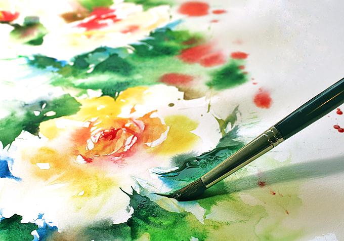 choose watercolor
