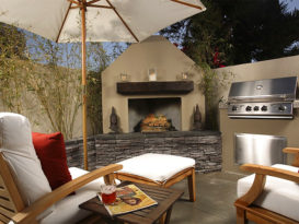 benefits of having an outdoor fireplace