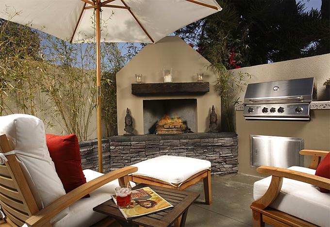 benefits of having an outdoor fireplace
