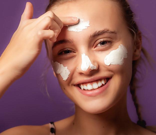 Skincare steps