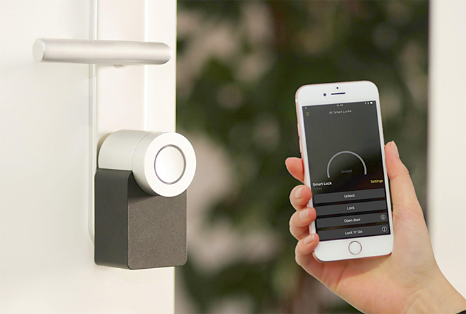 smart home locks 2020