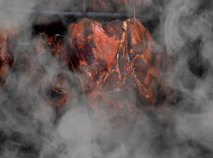smoke meat at home