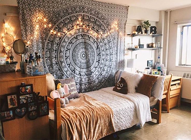 Creative Ways To Use A Wall Tapestry Flux Magazine