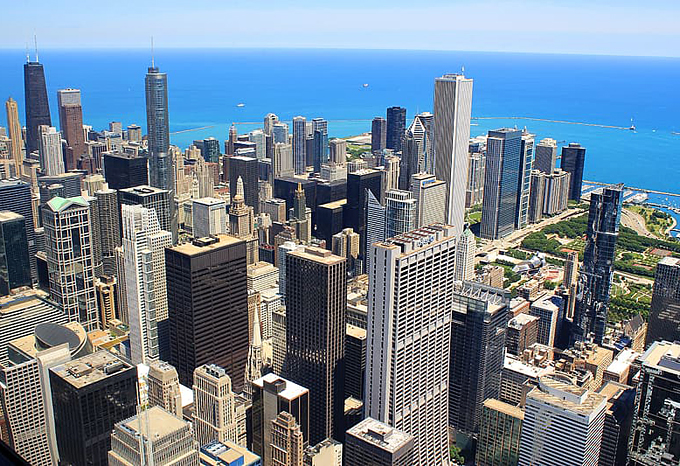 business trip Chicago