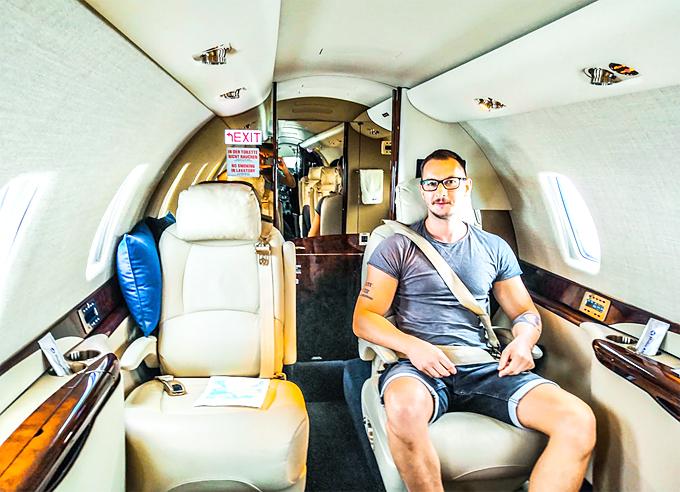 Empty leg flights tips