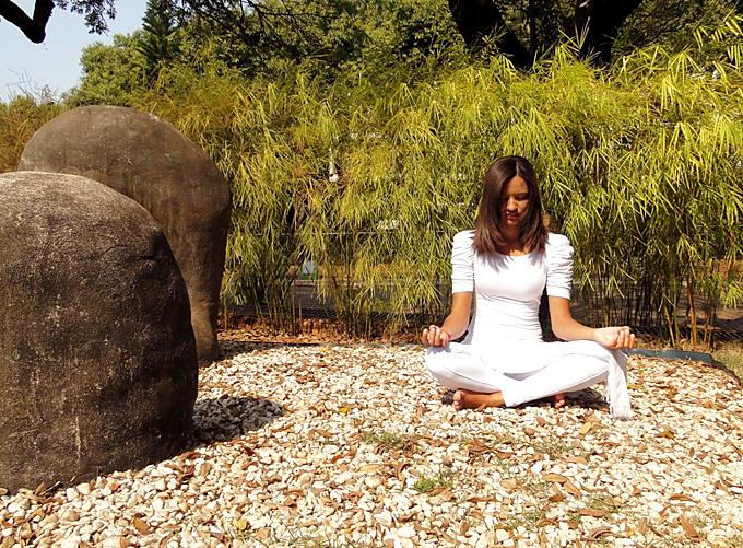 make yoga garden