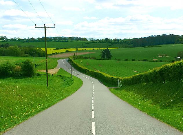england road trip