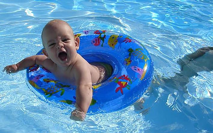 Child-Proof Swimming Pool